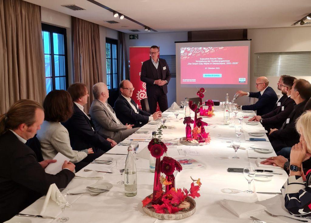 eco Executive Roundtable zur Smart City Köln - Nachhaltige Infrastruktur als zentrale Grundlage für die Smart-City-Entwicklung 6