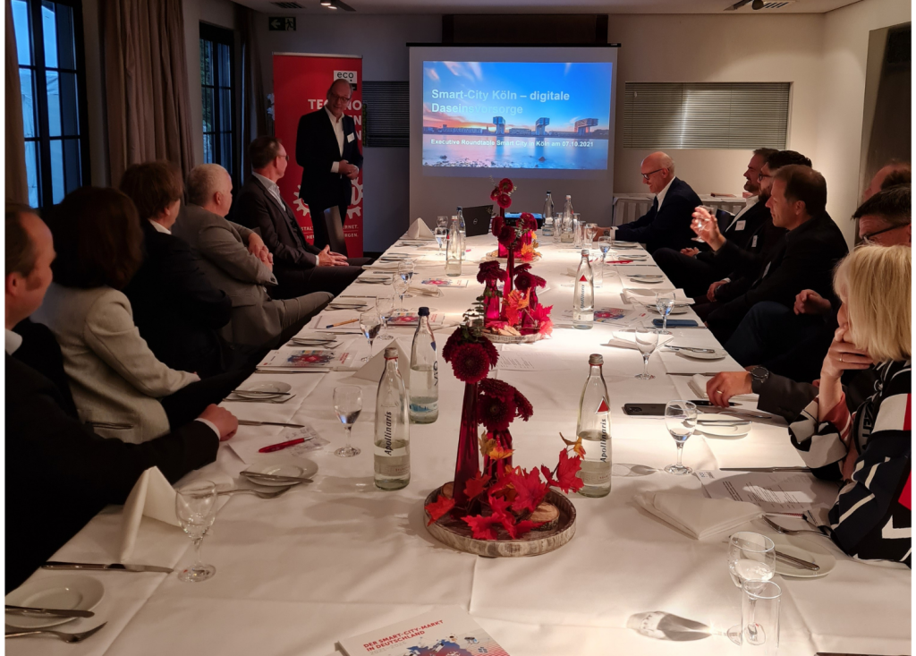 eco Executive Roundtable zur Smart City Köln - Nachhaltige Infrastruktur als zentrale Grundlage für die Smart-City-Entwicklung 1